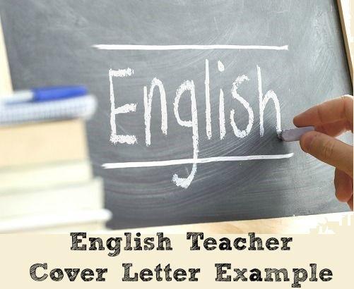 English Teacher Cover Letter Example | Esl lessons ...