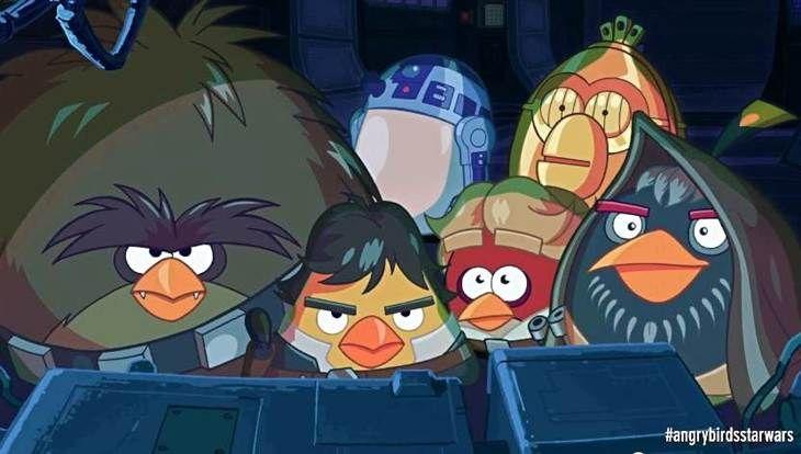 Angry Birds Star Wars Pantera Negra Ninos Redes Sociales