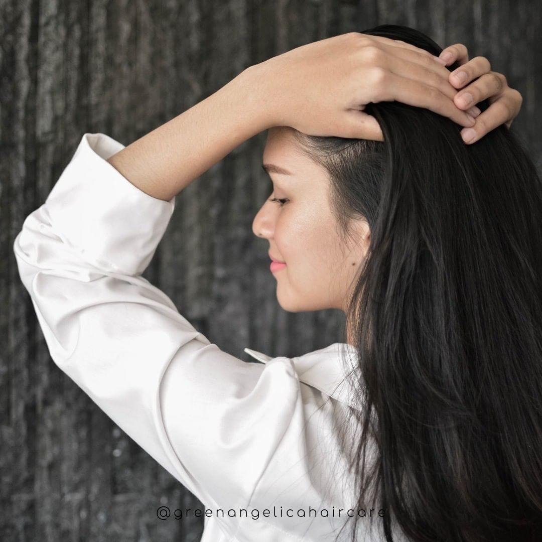Pin On Hair Care Penumbuh Rambut Penghilang Uban Penghilang Ketombe