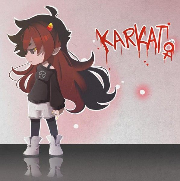 female karkat  homestuck