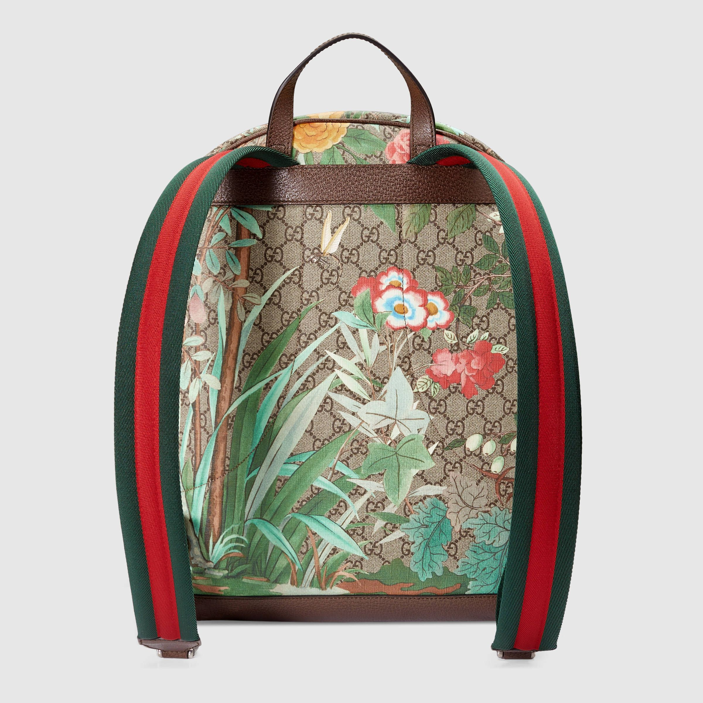 31f4fbed970cc2 Gucci Men - Gucci Tian GG Supreme backpack - 428027K0LCN8685 ...