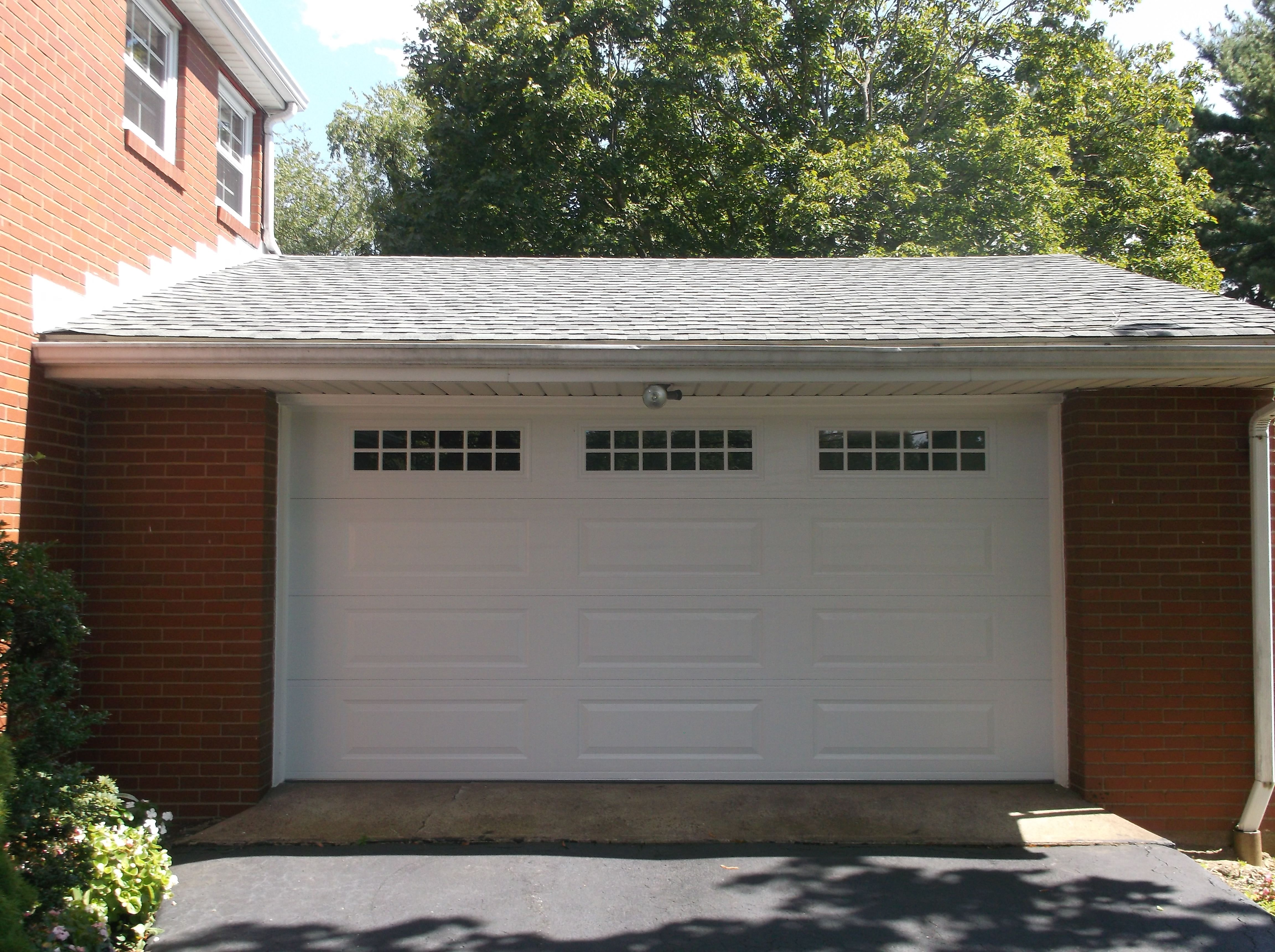 Amarr Stratford 3000 Long Panel Garage Door Garage Doors Garage Door Installation Garage Door Panels