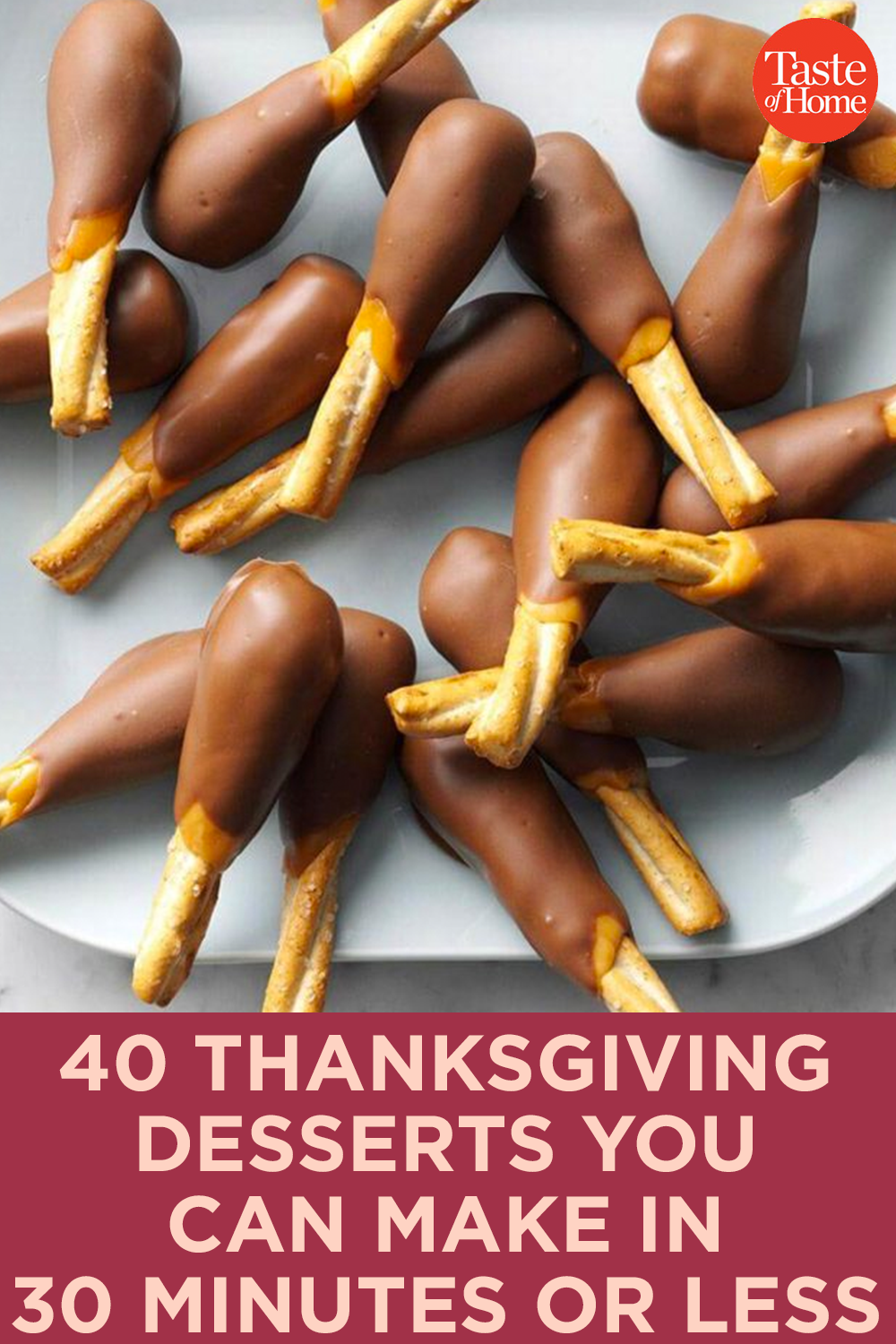 40 Thanksgiving Desserts You Can Make in 30 Minutes Or Less