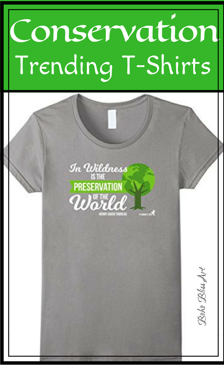 5dbf6a78 Trending T-Shirts: Henry David Thoreau Quote T-Shirt | Women's Fashion | In  Wilderness is the Preservation of the World Quote | Trendy T-Shirt ...