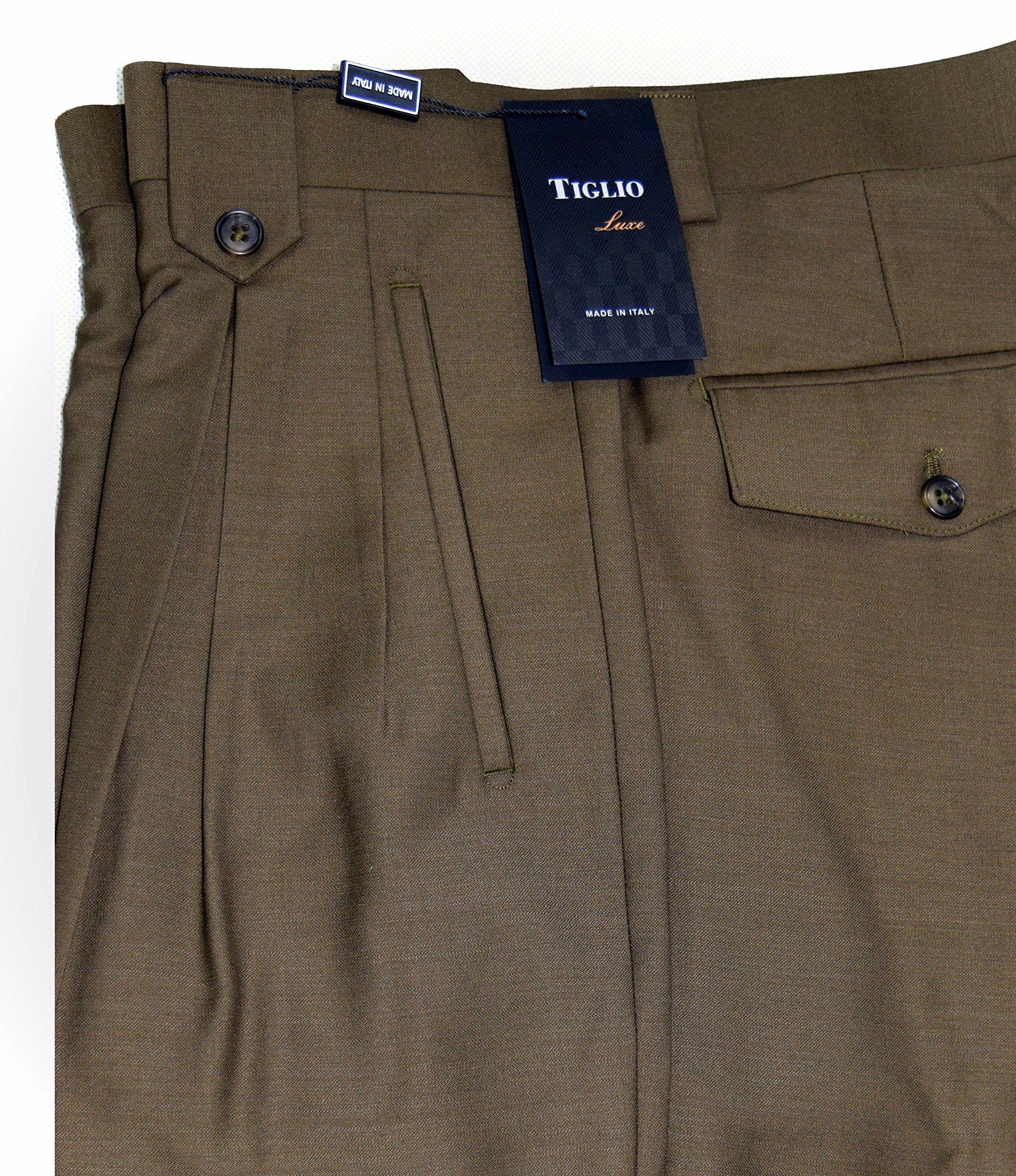 Tiglio Italian Wide Leg Pants~Tobacco~Model:2576 -- Awesome ...