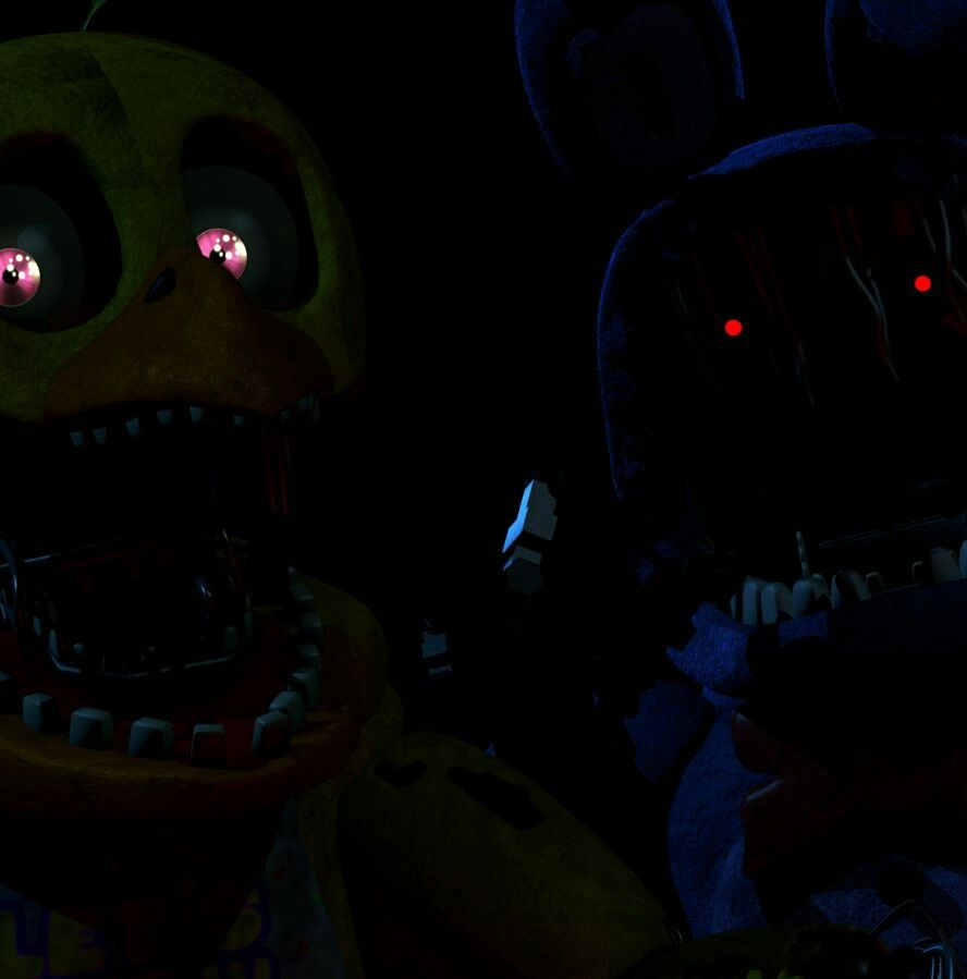 Old Chica and Bonnie