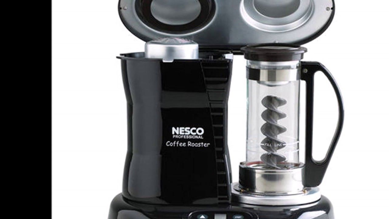Nesco CR 1010 PR Coffee Bean Roaster, Black Advanced