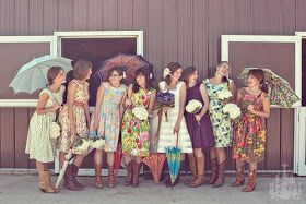 Wiggle Kitsch Bride: Bridesmaids dresses – the fun, the quirky and the vintage retro repro