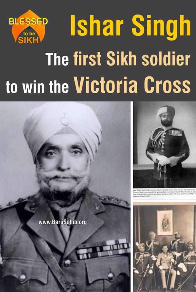 ‪#‎DidYouKnow‬ Ishar Singh - The First Sikh soldier to win the Victoria Cross! He was born at Nenwan in the Punjab 30 Dec 1895. The 28th had been sent to the tribal territory of Waziristan in April 1921 to help deal with the Mahsuds, the most warlike of the Wazirs, inhabiting the central region. http://barusahib.org/…/ishar-singh-the-first-sikh-soldier-…/ BIG ‪#‎Salute‬ to this Sikh Personality!