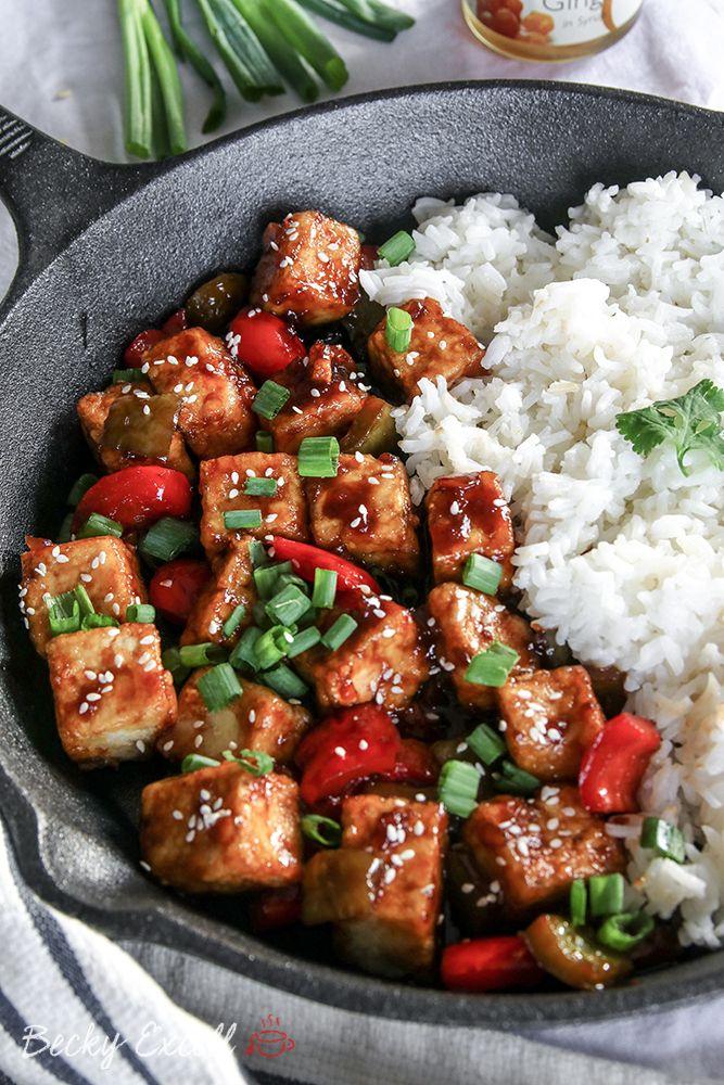 My Gluten Free Teriyaki Tofu Recipe Vegan Low Fodmap