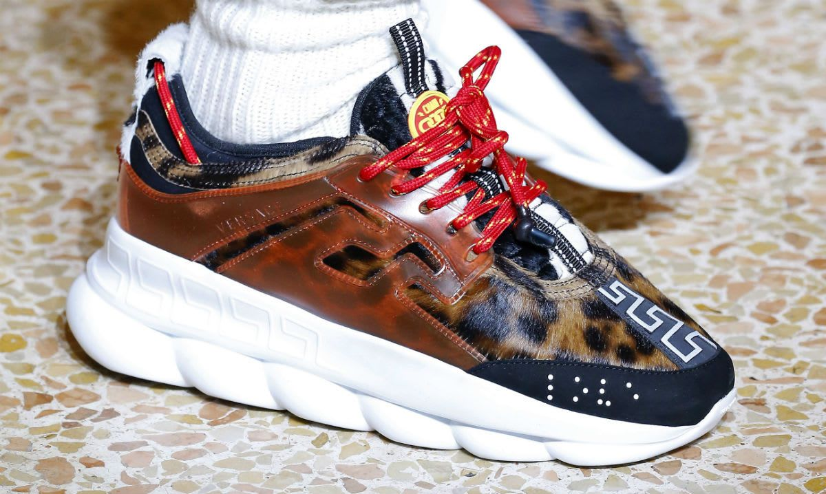 2 Chainz x Versace Chain Link sneakers 2018 collab ...