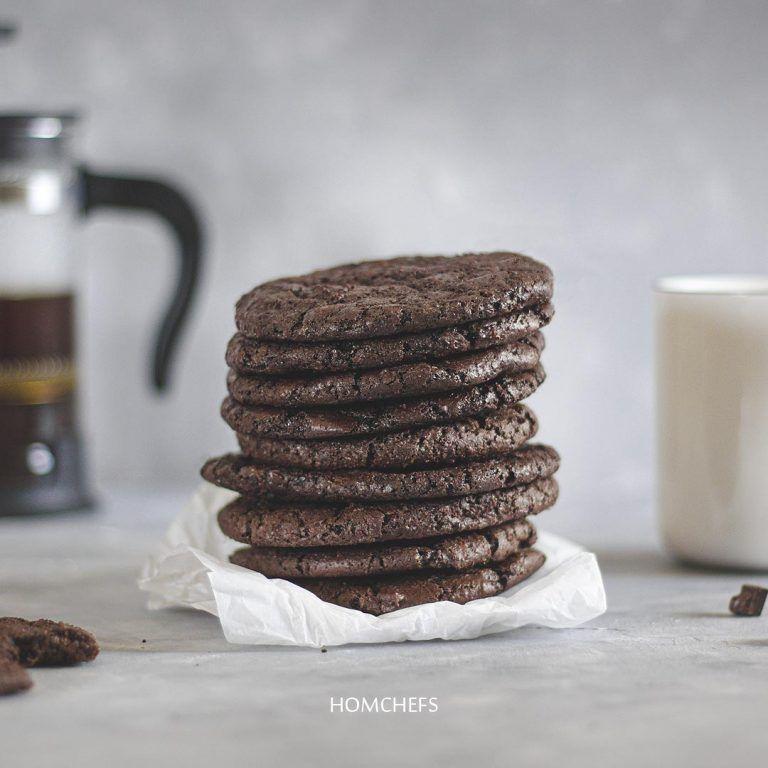 كوكيز براوني Brownie Cookies Food Chocolate Desserts