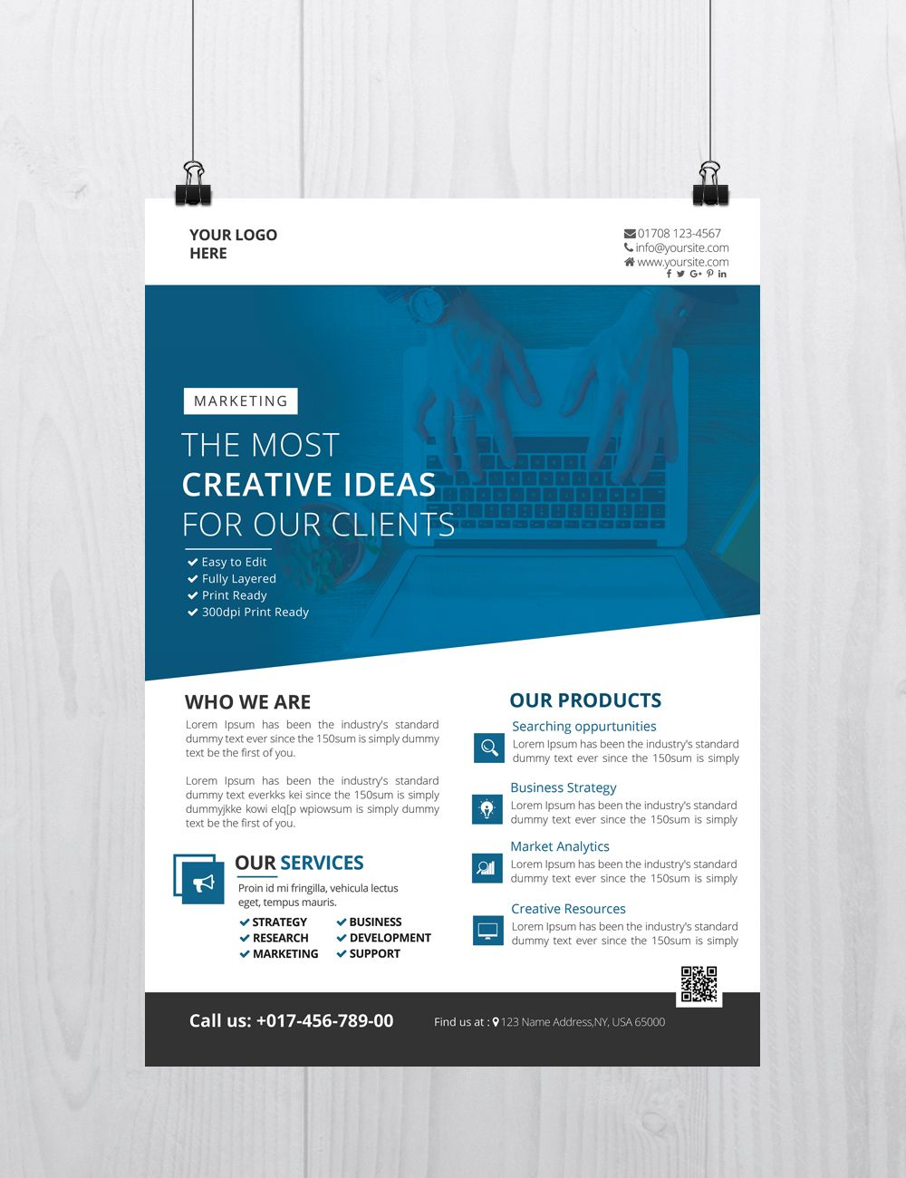 Creative Business is Free PSD Flyer Template to Download ...