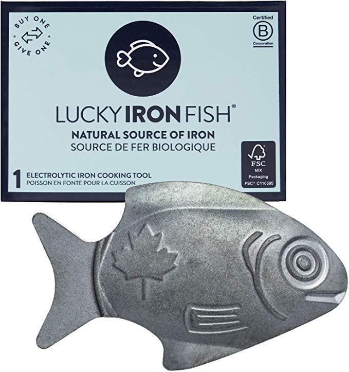 Lucky Iron Fish, A Natural Source of Iron A