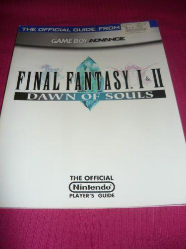 Final Fantasy I Ii 1 2 Dawn Of Souls Game Boy Advance Nintendo
