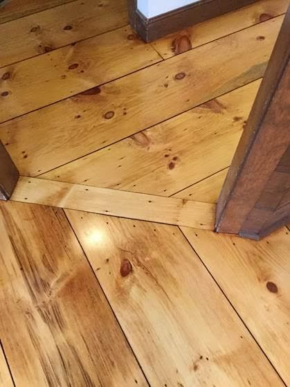 Below Are Before And After Eastern White Pine Floors Refinished Coats Water Lox Tung