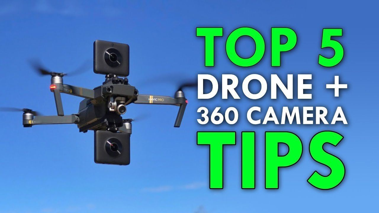 VR #VRGames #Drone #Gaming Top 5 Drone + 360 Camera Tips