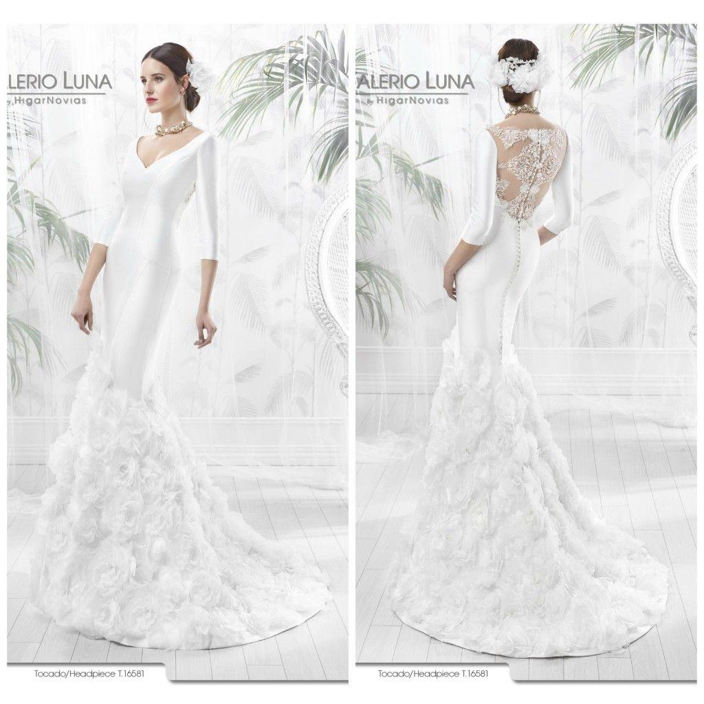 Vestidos de novia inspiracion flamenca