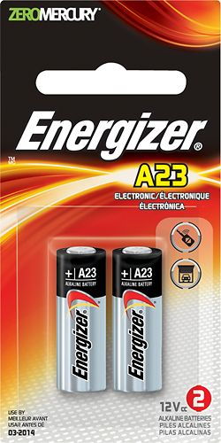 Energizer A23 Silver Oxide Batteries 2 Pack A23bpz 2 Best Buy Energizer Alkaline Battery Energizer Battery