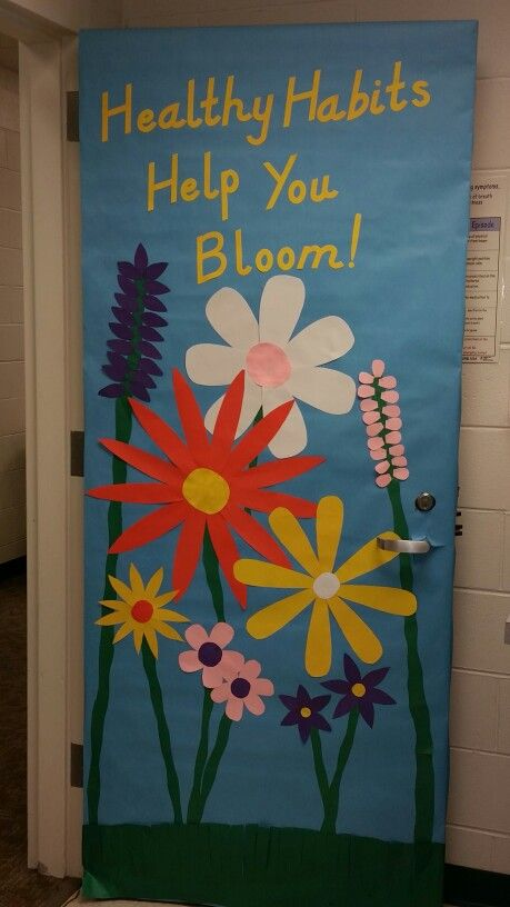 Spring School Nurse Door School Nurse Decorations School Nurse