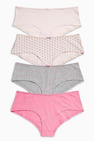 Print Shorts Four Pack