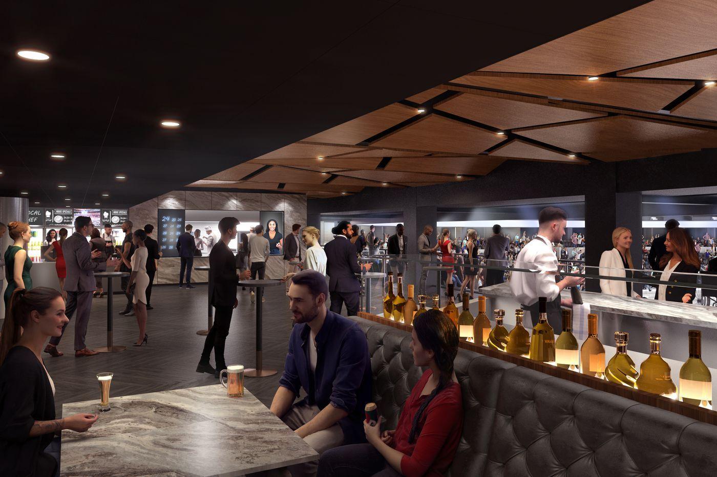 Wells Fargo Center's fancy new club level will relocate