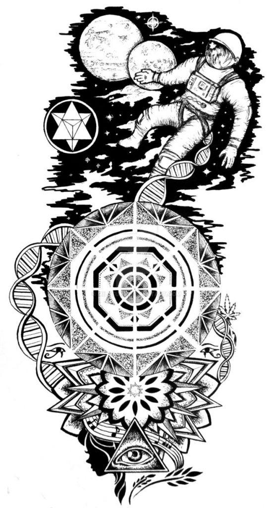 Small Art Tattoo Designs: Trippy Small Tattoos Trippy Tattoos Designs Trippy Tribal
