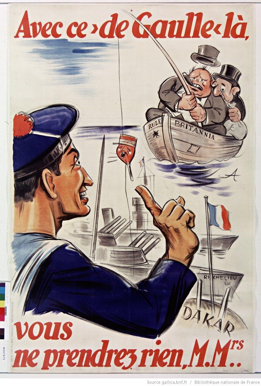 Vichy French World War Ii Propaganda Poster