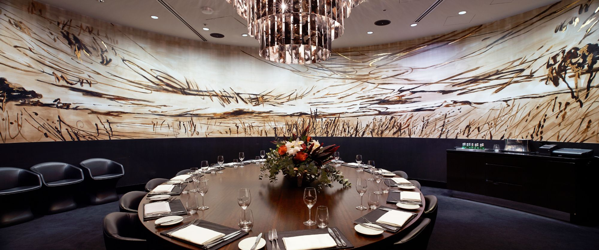 Black By Ezard Private Dining Room Sydney