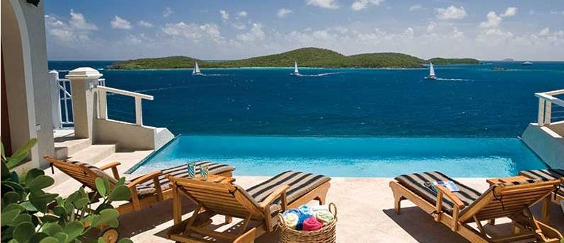 To paradise us virgin islands cliff house