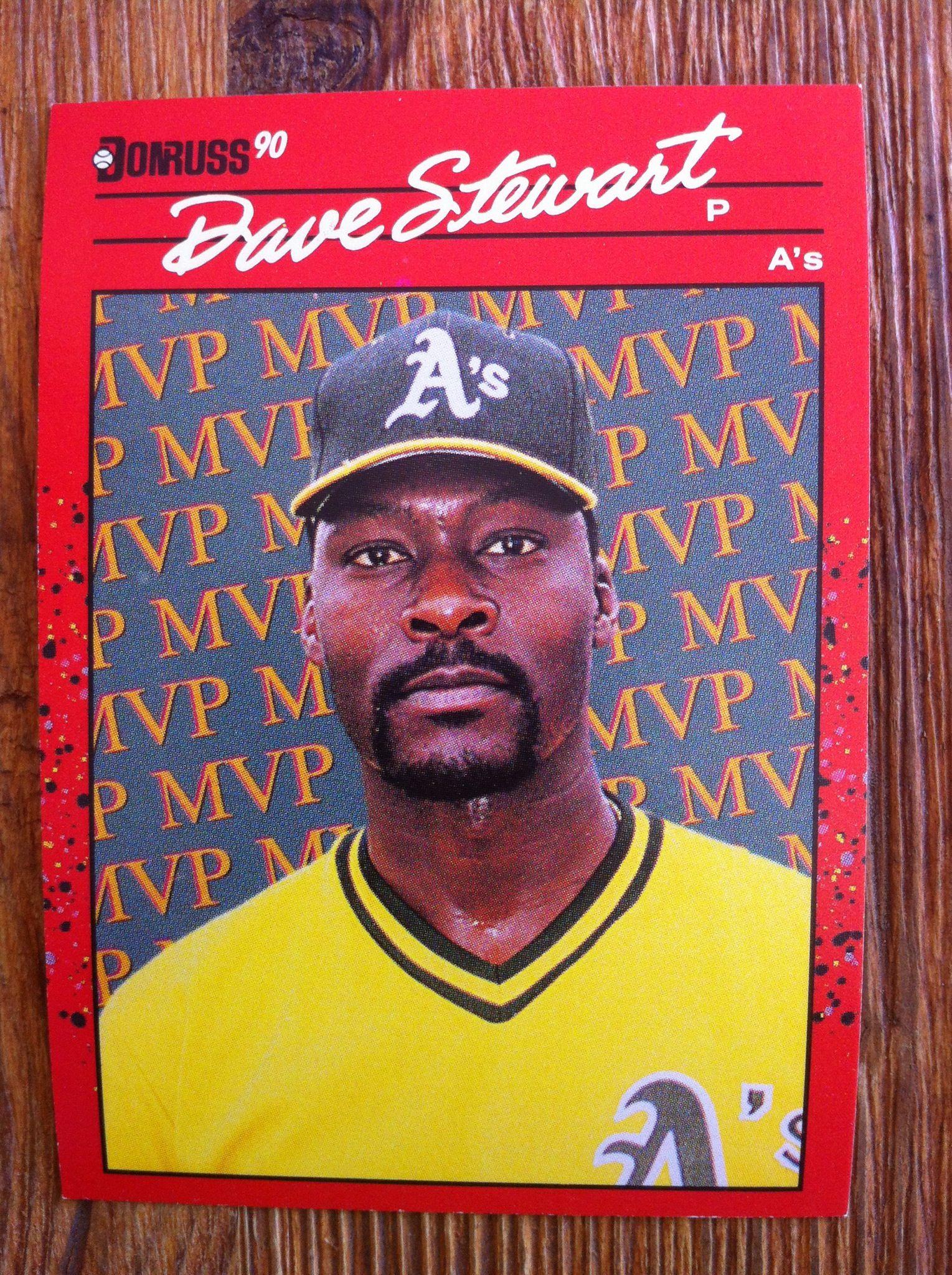 Dave Stewart Baseball Cards Old Baseball Cards Baseball