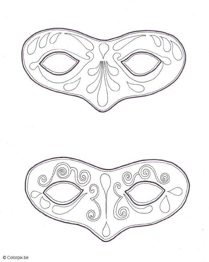 Kleurplaat Masker Google Zoeken מסיכה Pinterest Mardi Gras
