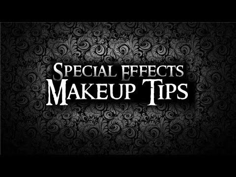 ▶ How to block out eyebrows - Special Effects Makeup Tips - YouTube