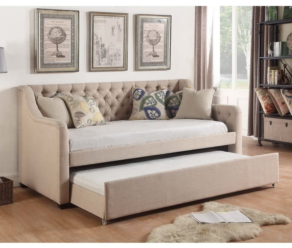 Enzo Daybed with Trundle Daybed, Bedrooms and House