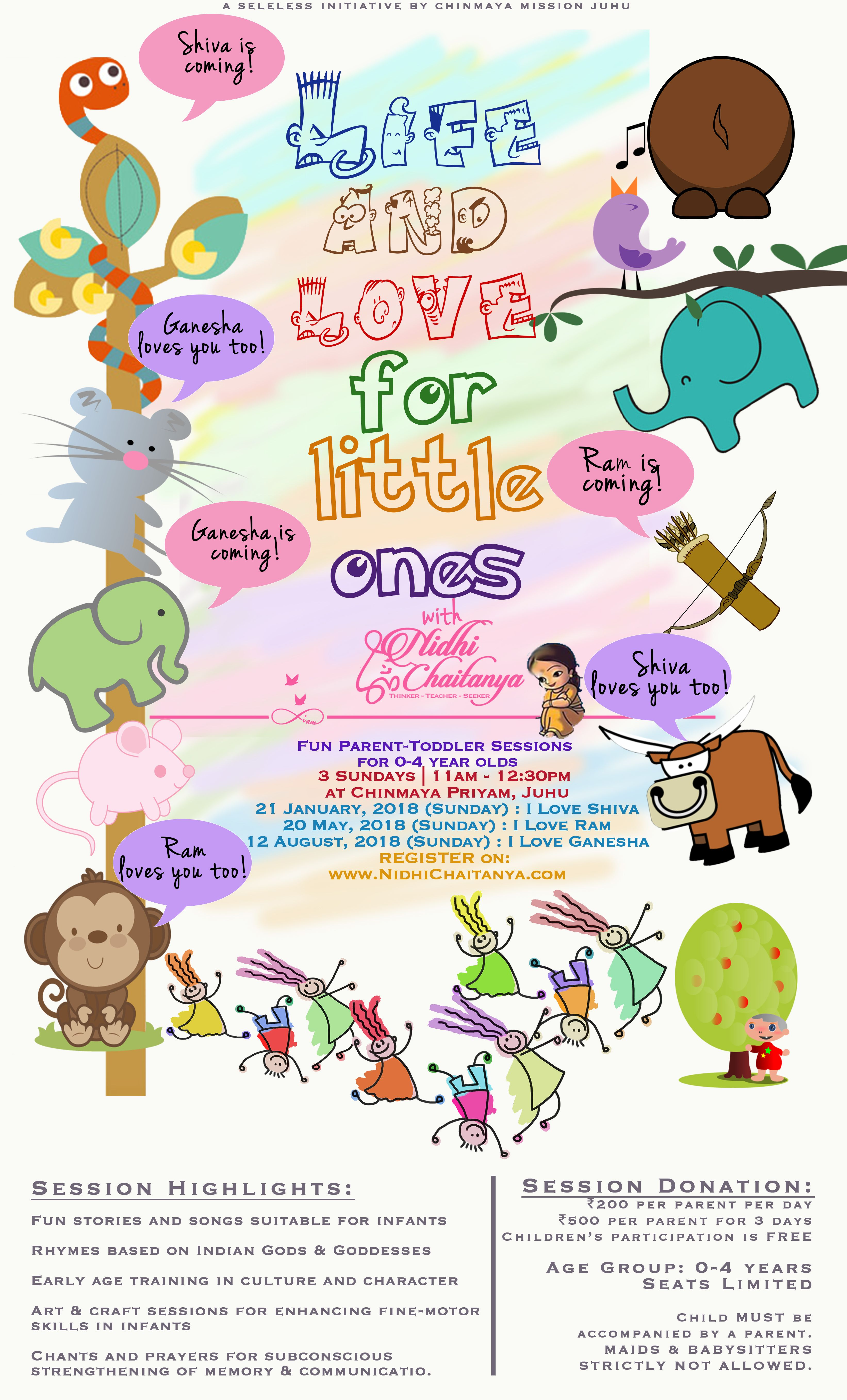 Life & Love for little ones. Design by NibsnN