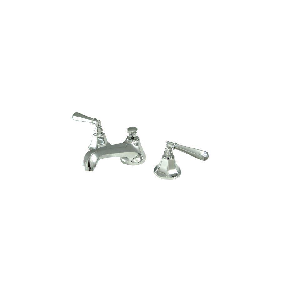 Metropolitan Widespread Bathroom Faucet with Double Lever Handles ...