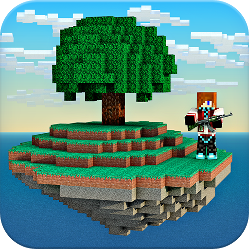 Skyblock Survival Mini Game Multiplayer minecraft style