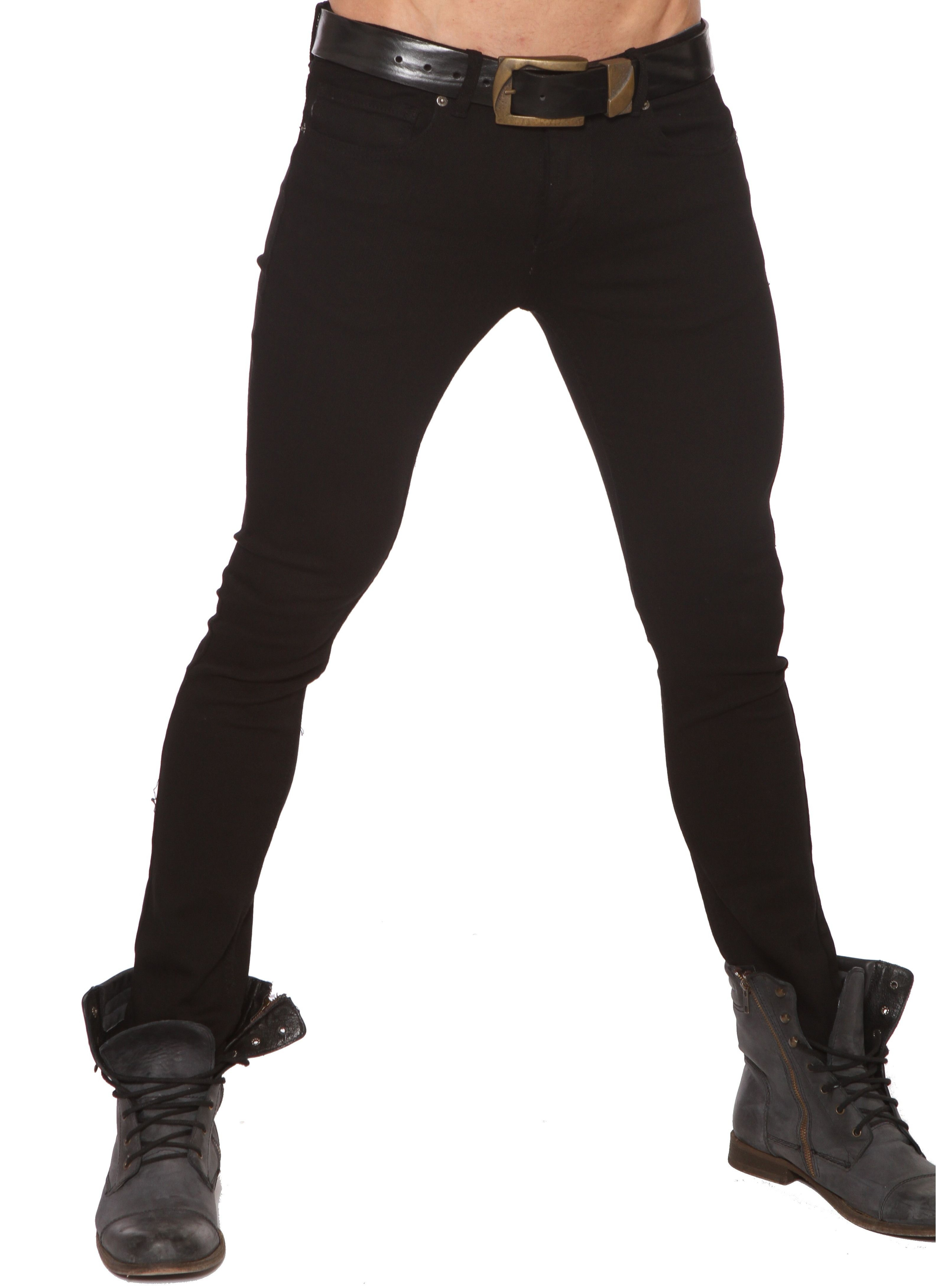 27c0244126c210 Lip Service Mens Pegged Tight Black Jeans Junkie Style Jeans ...