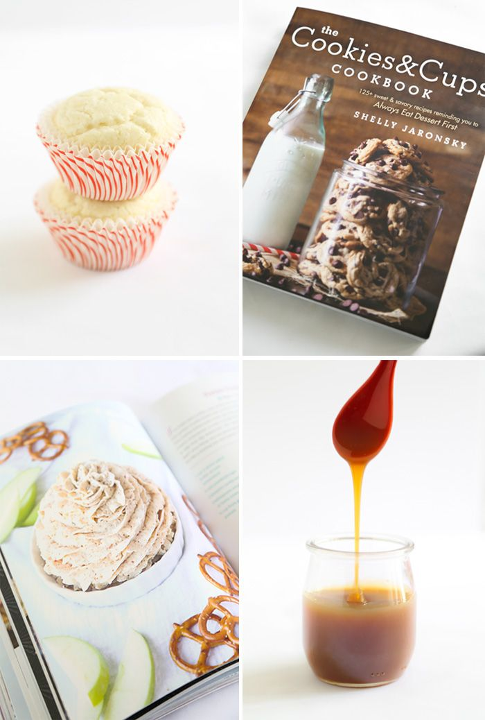 Pretzel Frosting Cupcakes from the Cookies & Cups Cookbook! | Sprinkle Bakes