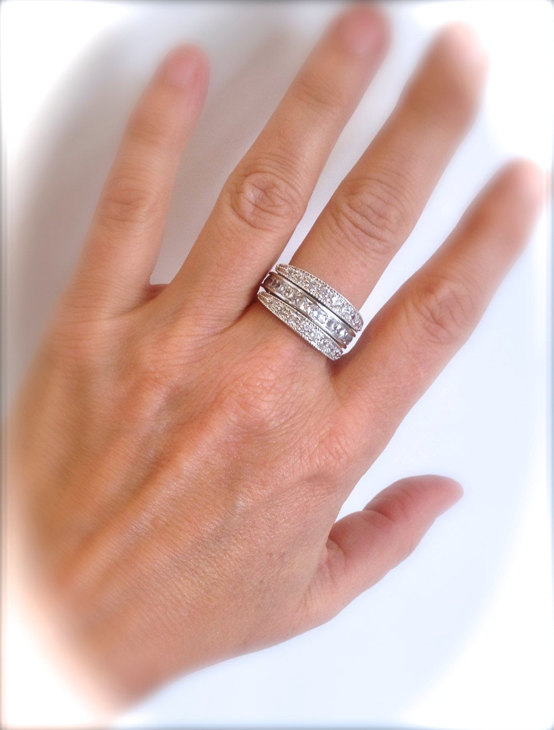 Fantastic Eternity Band Is 3 Rings In One The Genius Design