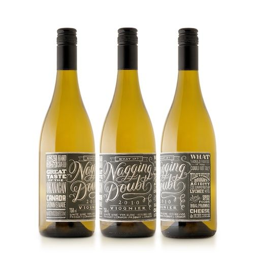 Dana Tanamachi lettering. Lovely! #packaging #wine #typography