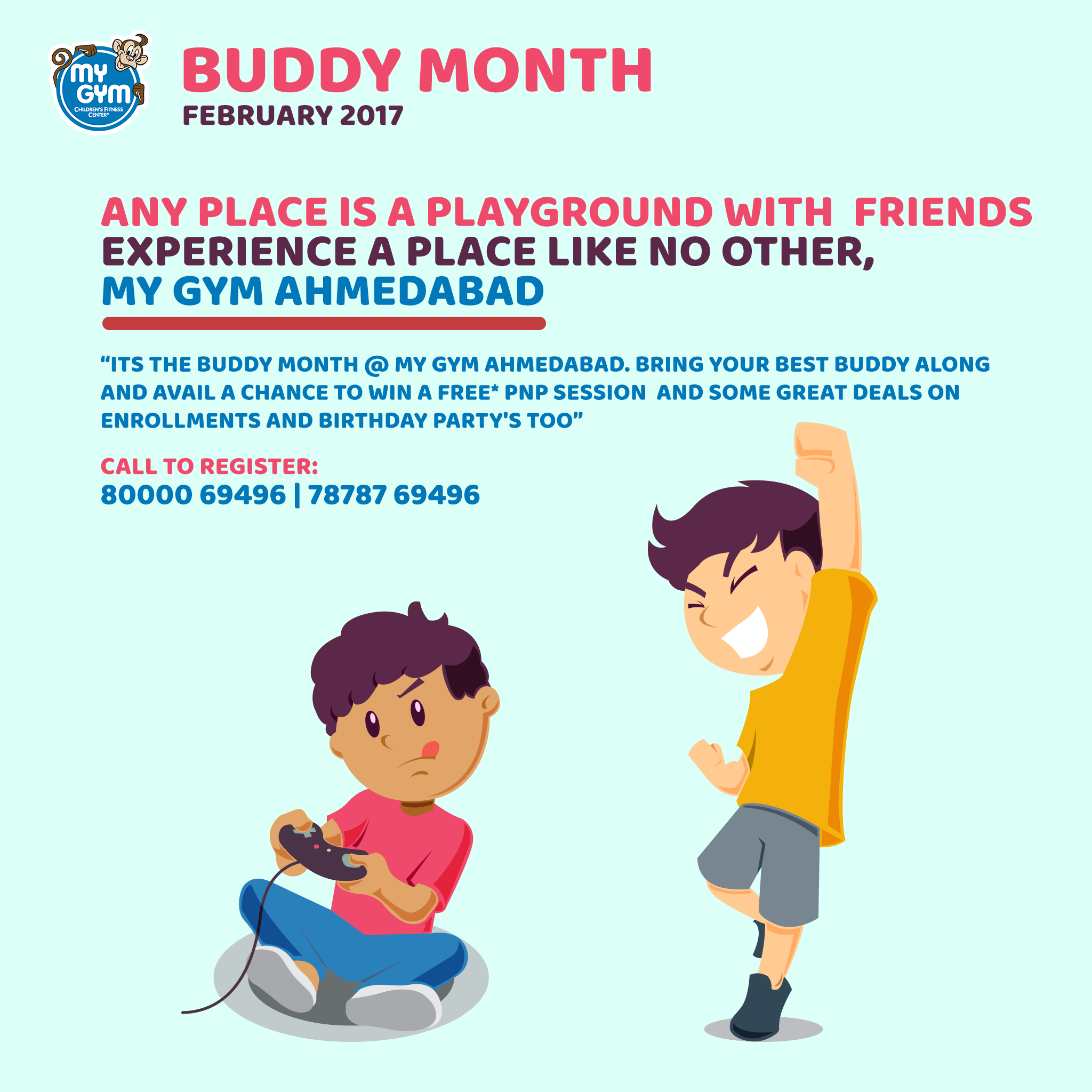 Buddy Month Starts At My Gym Come Along With Your Best Buddies And Get Great Offers Deals Also This Months Kids Can Dress Up In