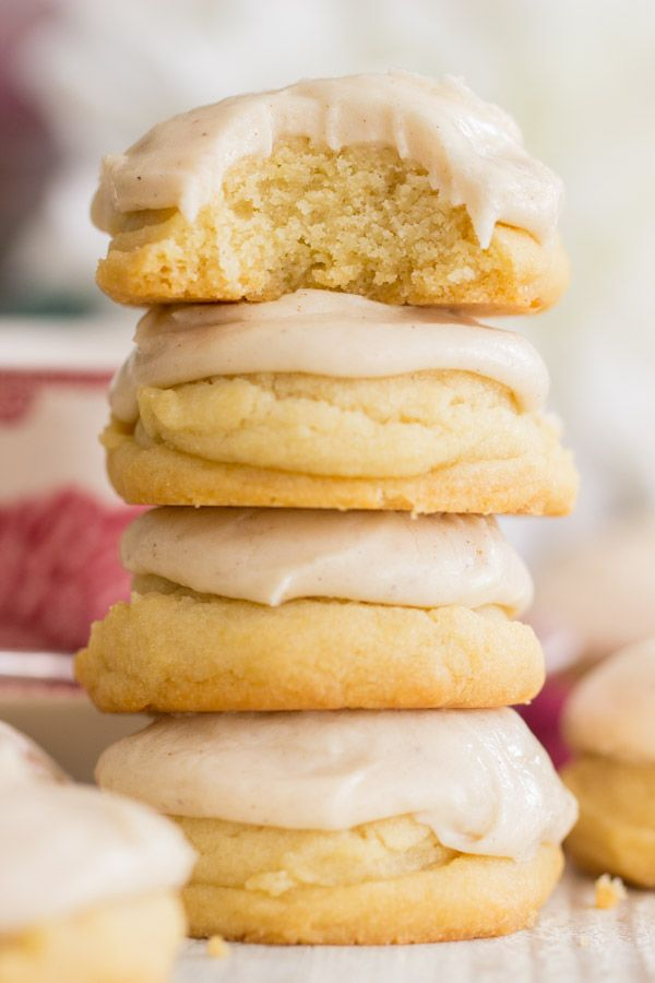 Brown Butter Amish Sugar Cookies with Brown Butter Icing