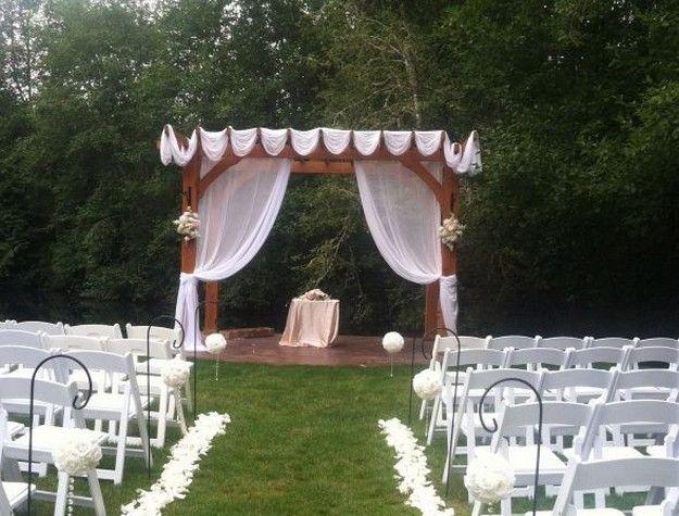 Pergola Wedding Decoration Ideas
