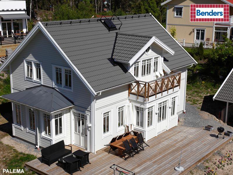 Pin By Jessica Orrgard Stjarnholm On Stjarnekens Gard Concrete Roof Tiles Concrete Tiles House Styles