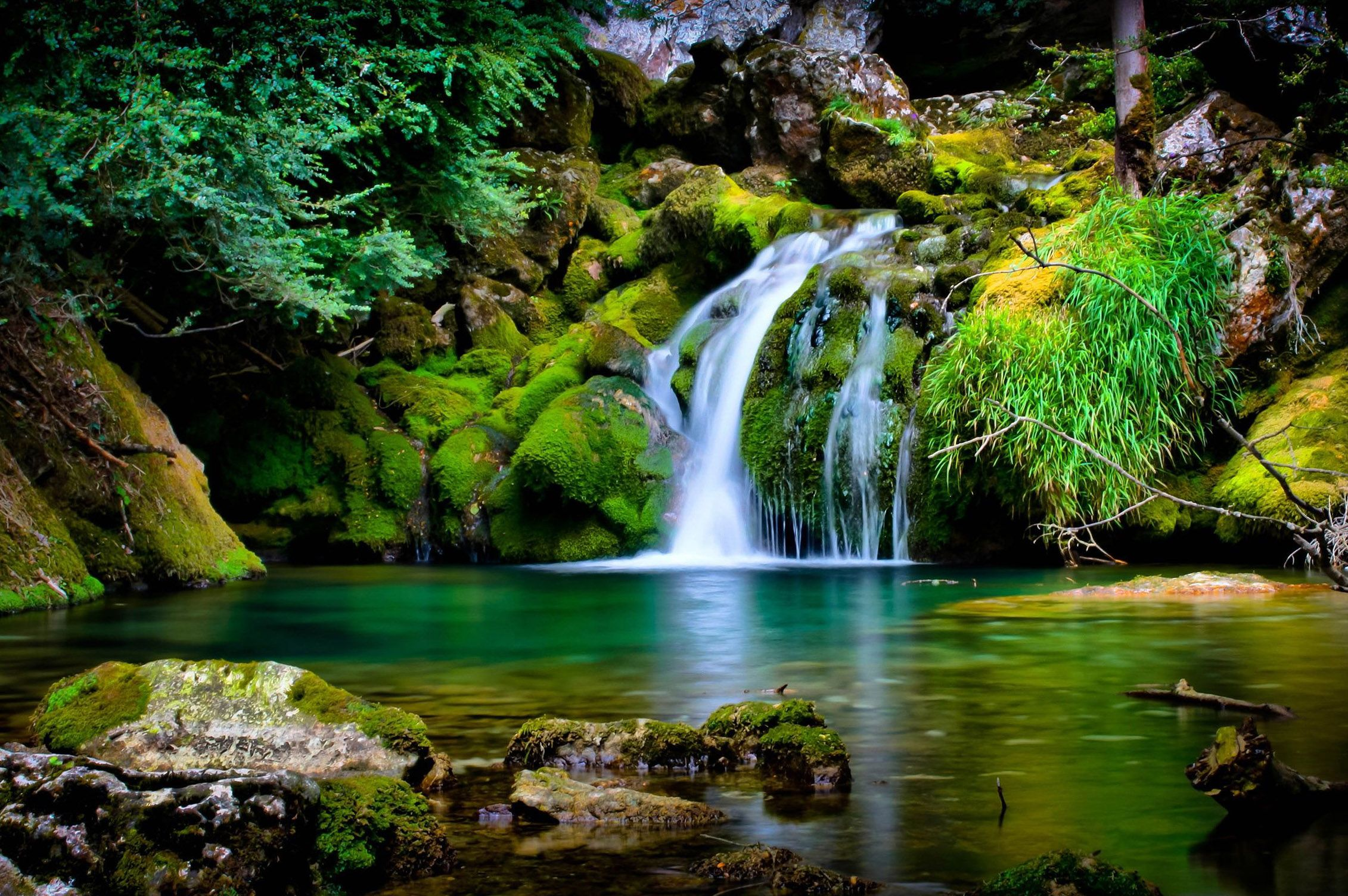 Wallpaper Widescreen High Resolution Nature Hd With Images Spring Wallpaper Waterfall Wallpaper Beautiful Nature Wallpaper