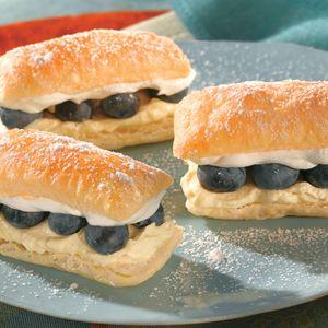 Lemon Blueberry Petite Napoleons Recipe Pepperidge Farm Puff Pastry Brunch Recipes Food