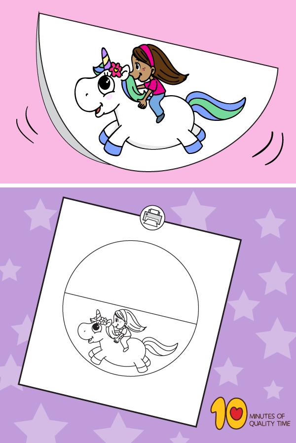 Rocking Unicorn Rocking Unicorn Bee Coloring Pages Easy Arts