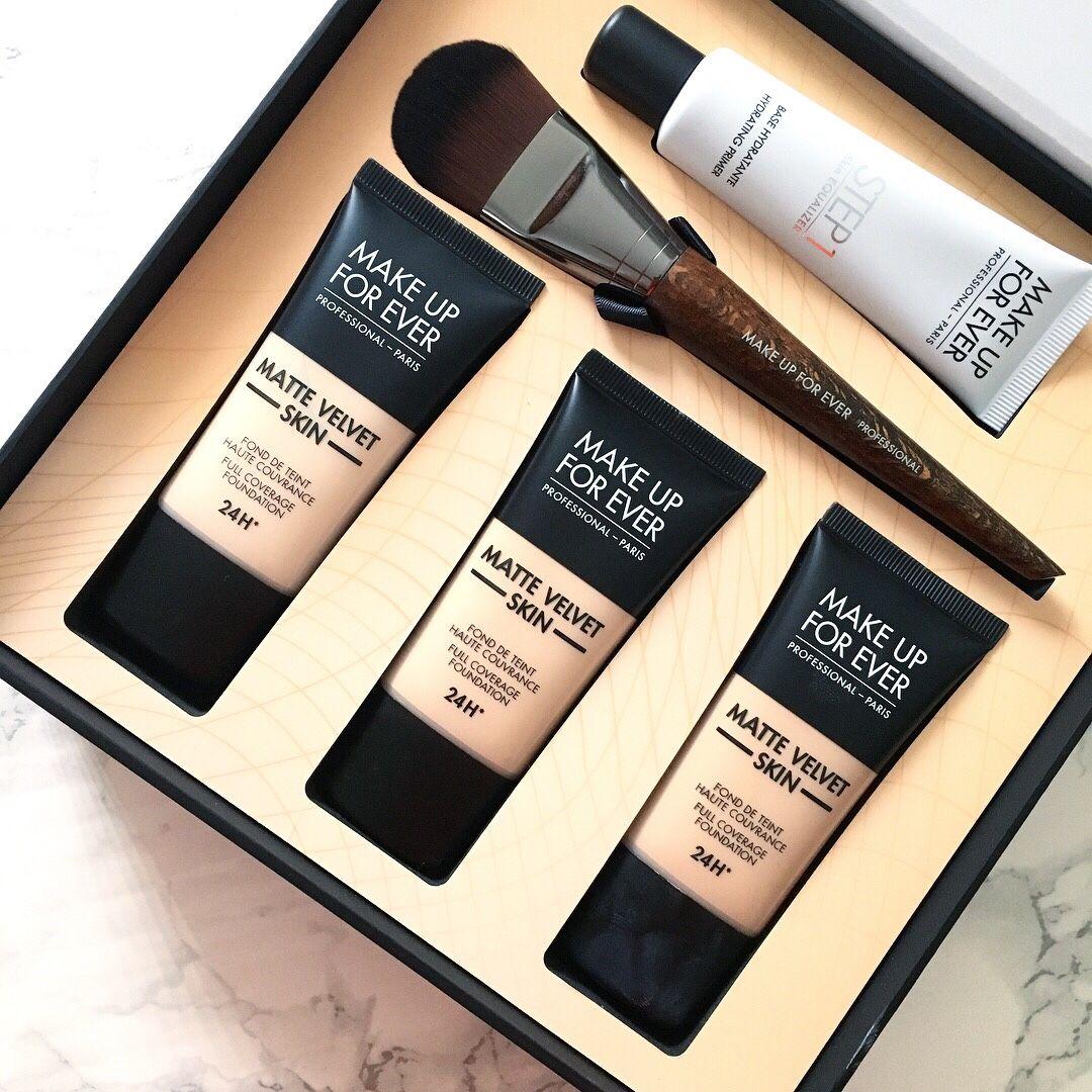 Make Up For Ever Matte Velvet Skin Foundation Review