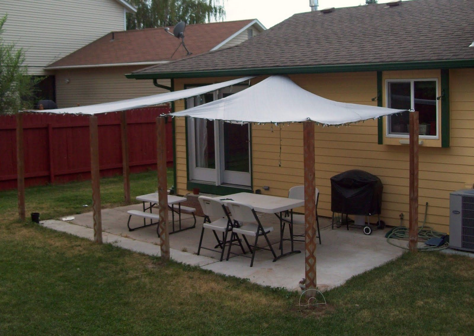 Triangle Canvas Patio Covers Decor Pinterest